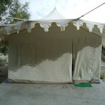 Opening of Tent