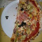 questa è meno della metà della pizza intera... solo per farvi capire la grandezza rispetto al pi