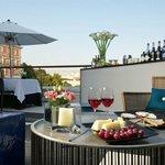 Foto de la terraza