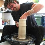 Visitors can watch potters create works of art!