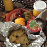 Breakfast! Delicious!