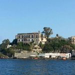 this jewel of gourmet cuisine is situated right in the harbor of Lipari