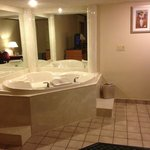 Jacuzzi in suite.