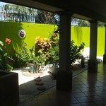 Beautiful private courtyard