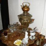 Tula's Russian Tea room - don't miss this stop on your way to the top