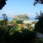 la veduta dell'Isola di Dino dall'Hotel