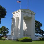 Peace Arch from Canada side