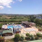 Adjoining hotel pool
