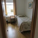 Smaller of the 2 bedrooms in the apartment