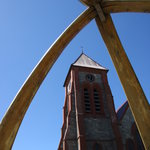 Arch and Church
