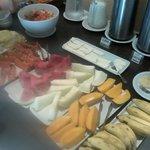 Y las frutas del desayuno ñam!
