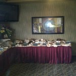 The dessert table (part of it!)