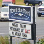 Photo de Mount Blue Motel