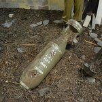 Just one of the American bombs excavated locally