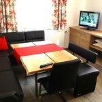 Kitchen & sitting room - plenty of seats