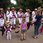 The Morris dancers from Wickham