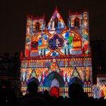 La Cathédrale le 8 décembre à la Fete des Lumières