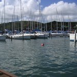 A la marina d' Oyster Pond