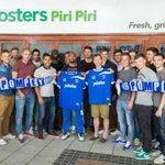 when Portsmouth FC came to visit.
