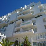 Fachada de las habitaciones del hotel