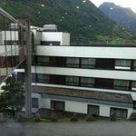 sort of dependance of Geiranger hotel main building