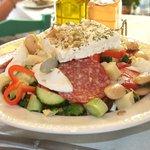 The wonderful Lassithi salad
