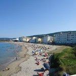 Playa urbana de Burela
