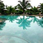 A gorgeous clean, warm pool