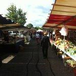 French Market in Geneva