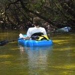 Kayaking on Turkey Creek