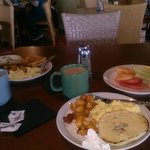 Breakfast Buffet was delicious & complementry!