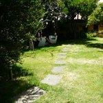 precioso jardin para descansar, leer, meditar... vivir!