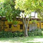 habitaciones que dan directamente al jardin
