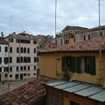 Vista del campo San Maurizio desde la habitación