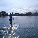 SUPing in Kihei