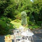 Front garden of Tan Dinas