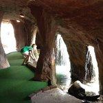 inside a pirate cave!