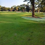 hole #2 from the right side of fairway