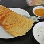 Masala dosa in Indian Coffee House