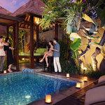 BBQ in private villas