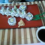vegetarian sushi rolls - excellent!