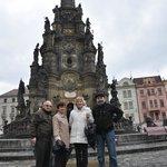 Trinity coloumn on the Upper Olomouc square