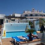 hotel cenit pool, ibiza