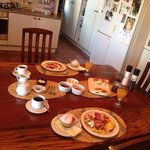Scrumptious breakfast!