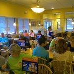 Busy morning at IHOP on Victory Drive