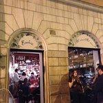 Wine bar entrance