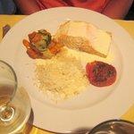 poisson du menu à 25 euro