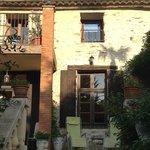 Treppe vom Garten auf die Grand Terrasse
