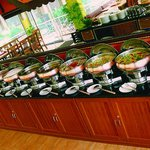 Quality Restaurant buffet counter