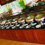 Quality Restaurant buffet counter